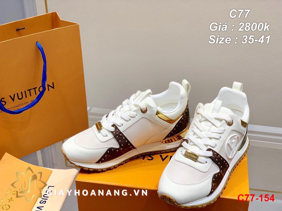 C77-154 Louis Vuitton giày thể thao siêu cấp
