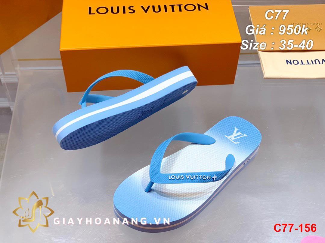 C77-156 Louis Vuitton dép sỏ ngón siêu cấp