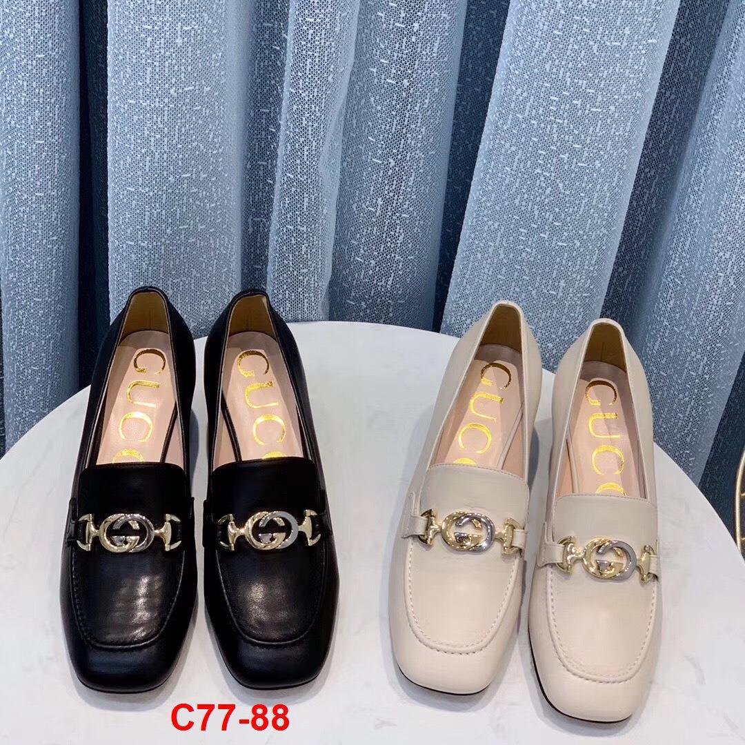 C77-88 Gucci giày cao 5cm siêu cấp