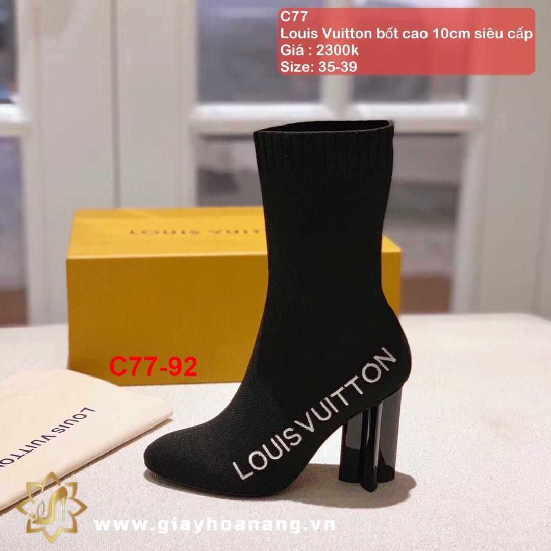 C77-92 Louis Vuitton bốt cao 10cm siêu cấp
