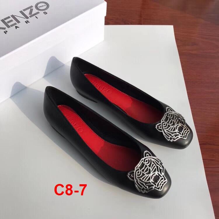 C8-7 Kenzo giày bệt siêu cấp