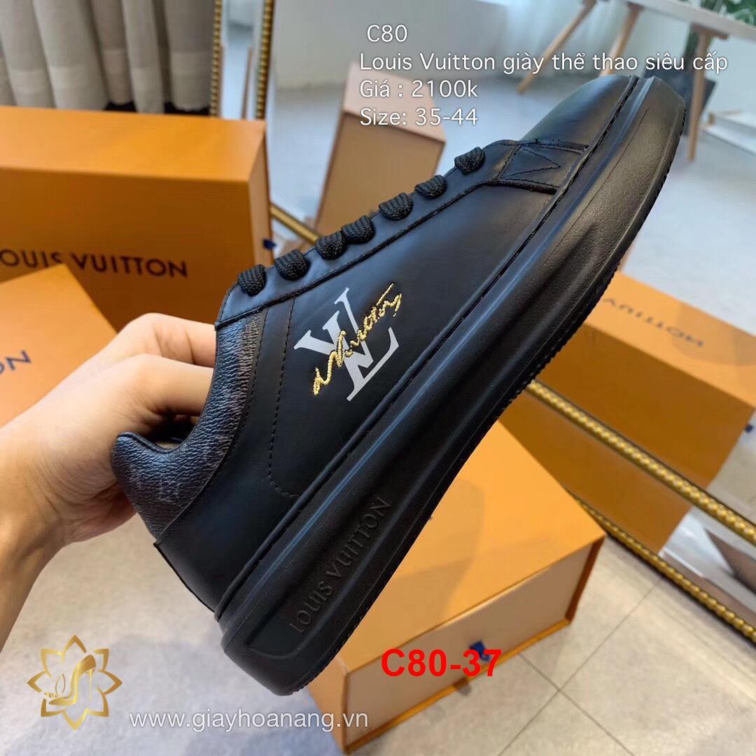 C80-37 Louis Vuitton giày thể thao siêu cấp