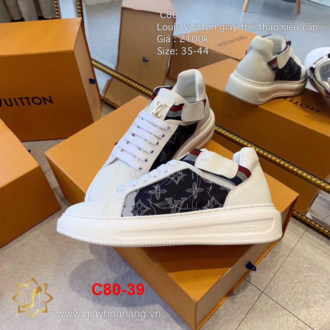 C80-39 Louis Vuitton giày thể thao siêu cấp