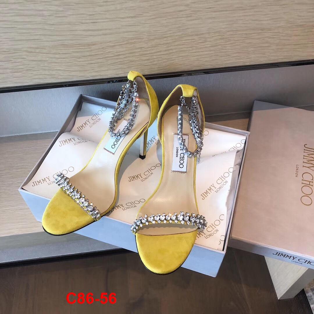 C86-56 Jimmy Choo sandal cao 10cm siêu cấp