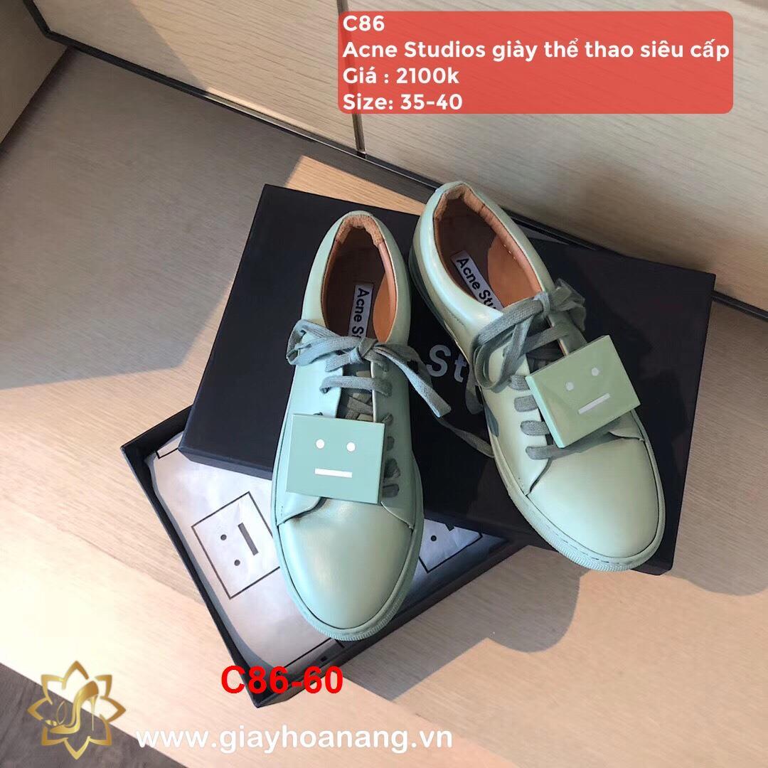 C86-60 Acne Studios giày thể thao siêu cấp