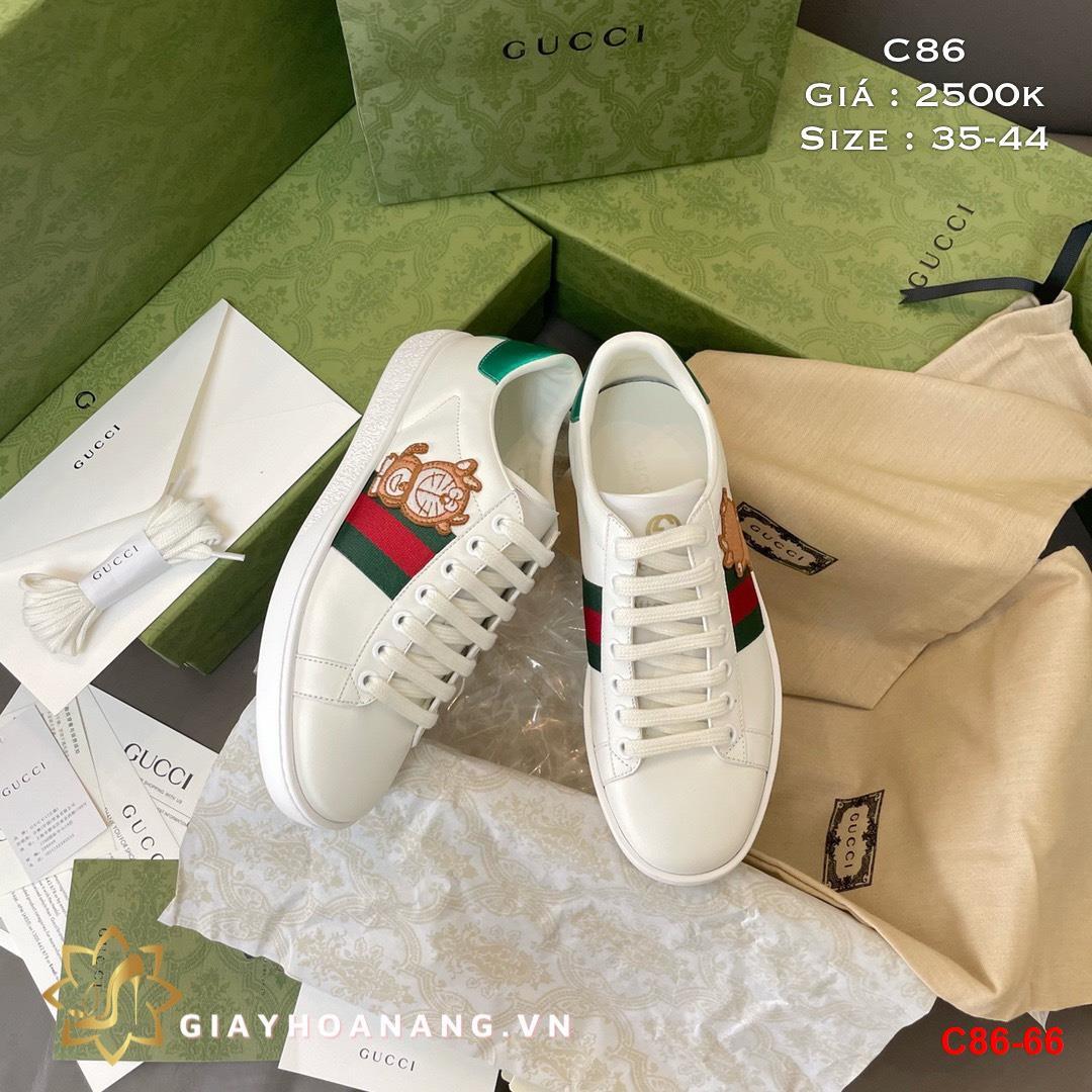 C86-66 Gucci giày thể thao siêu cấp