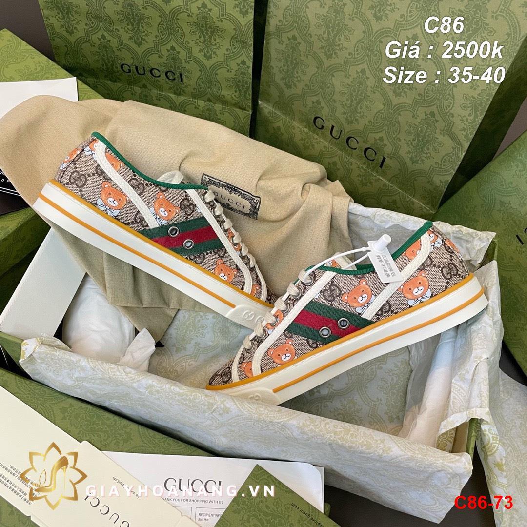 C86-73 Gucci giày thể thao siêu cấp