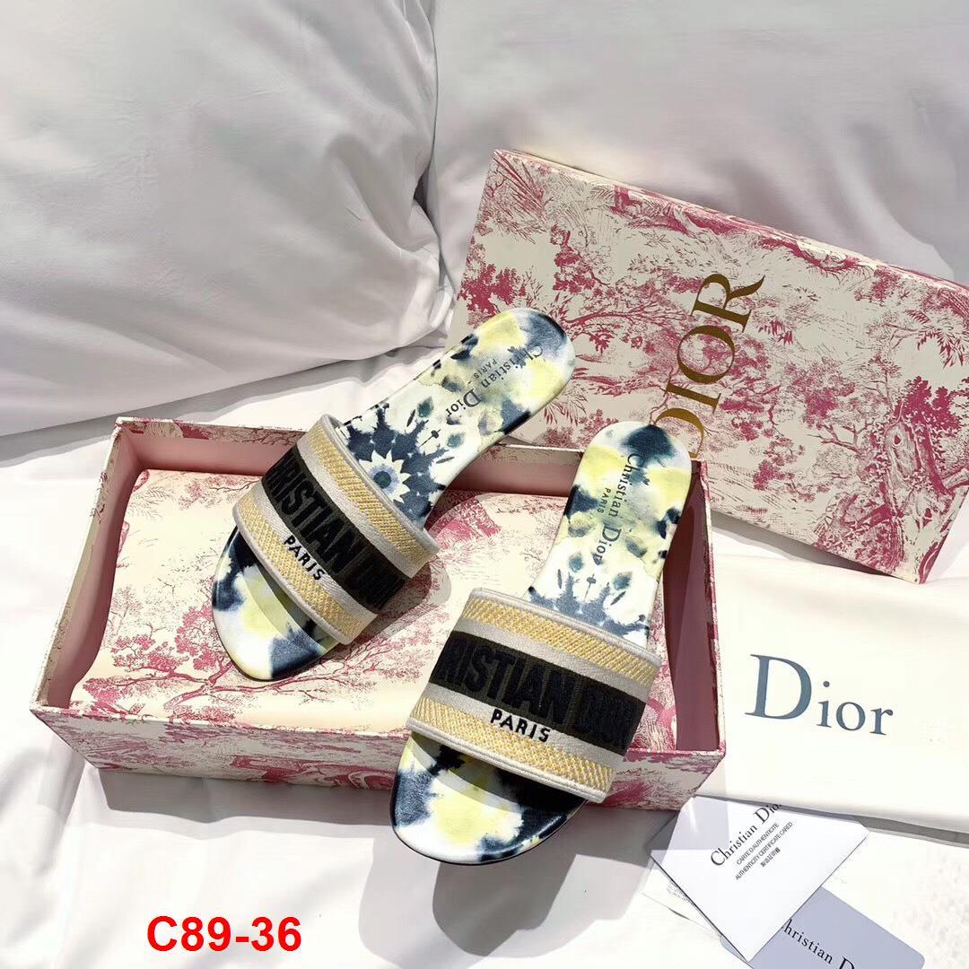 C89-36 Dior dép bệt siêu cấp