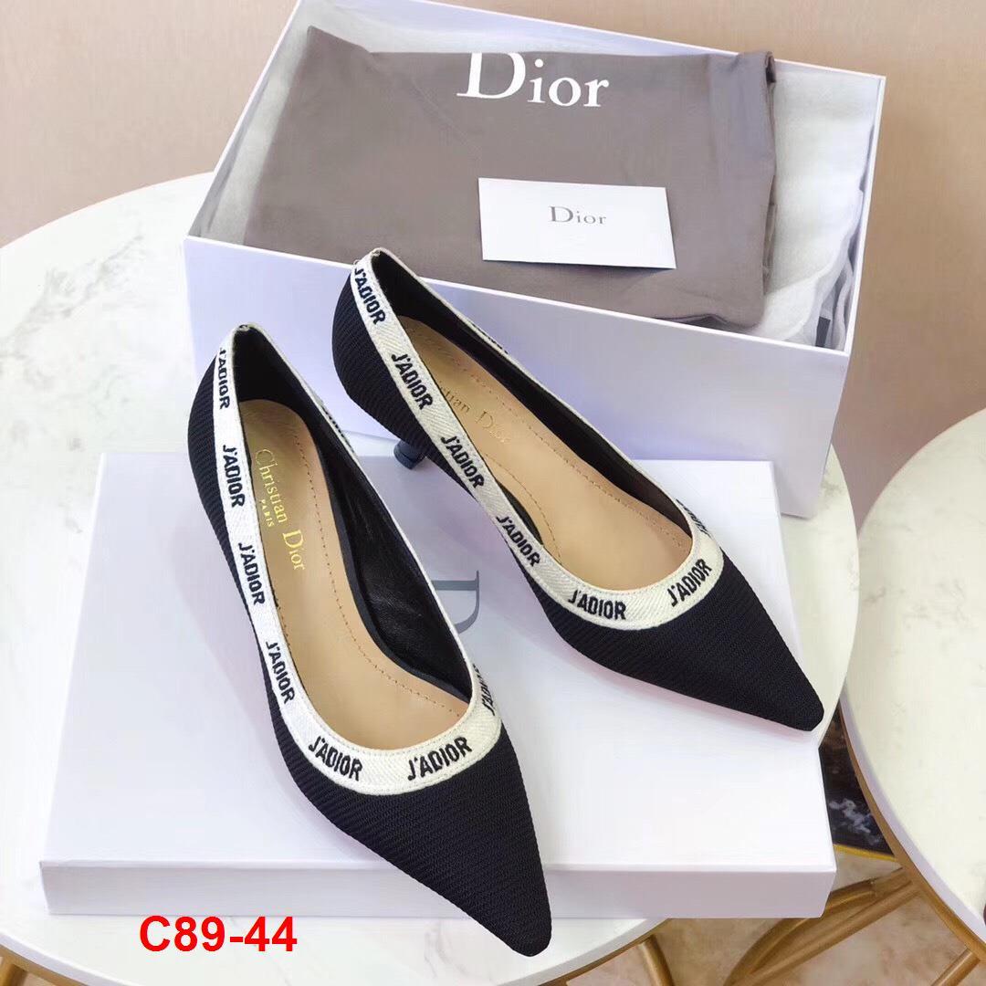 C89-44 Dior giày cao 6cm, 10cm siêu cấp