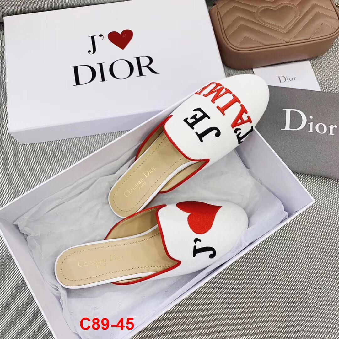 C89-45 Dior dép sục bệt siêu cấp