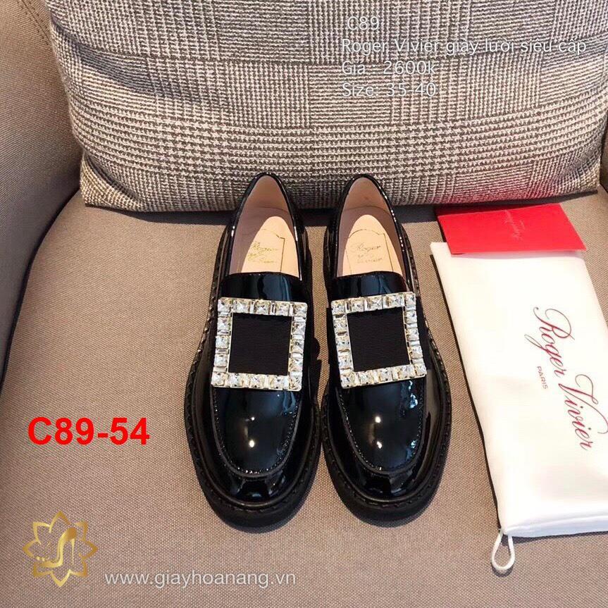 C89-54 Roger Vivier giày lười siêu cấp