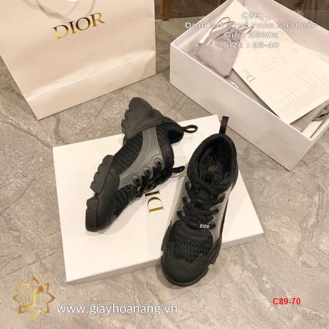 C89-70 Dior giày thể thao siêu cấp