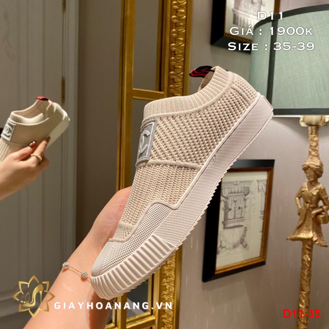 D11-35 Chanel giày lười siêu cấp