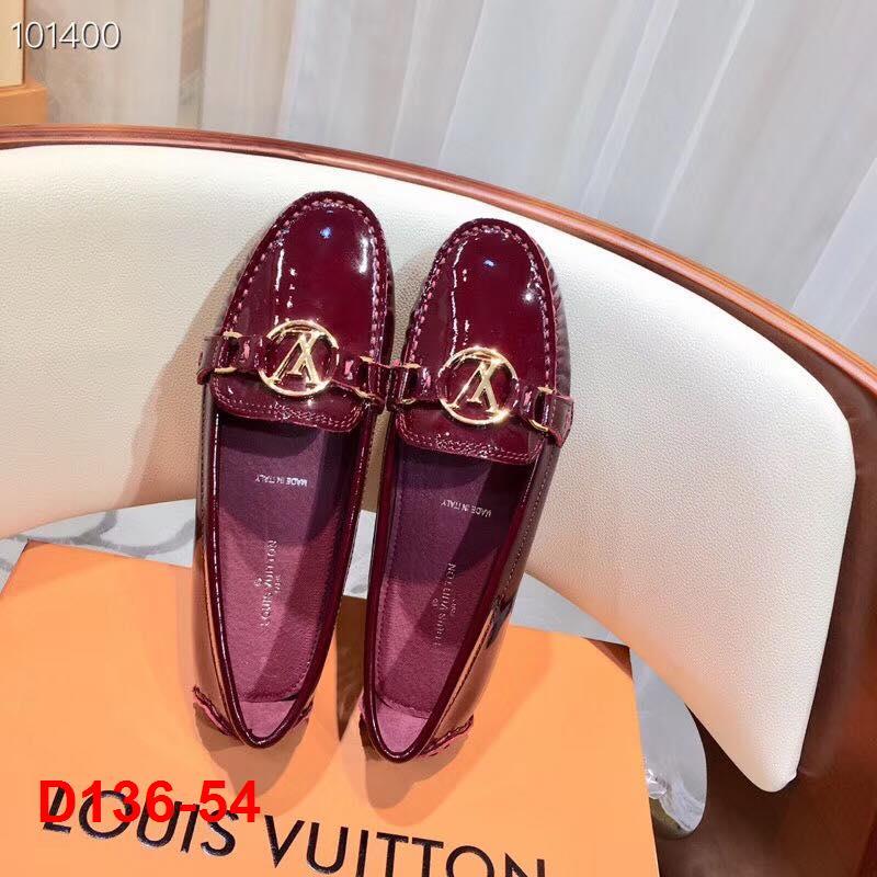 D136-54 Louis Vuitton giày lười siêu cấp