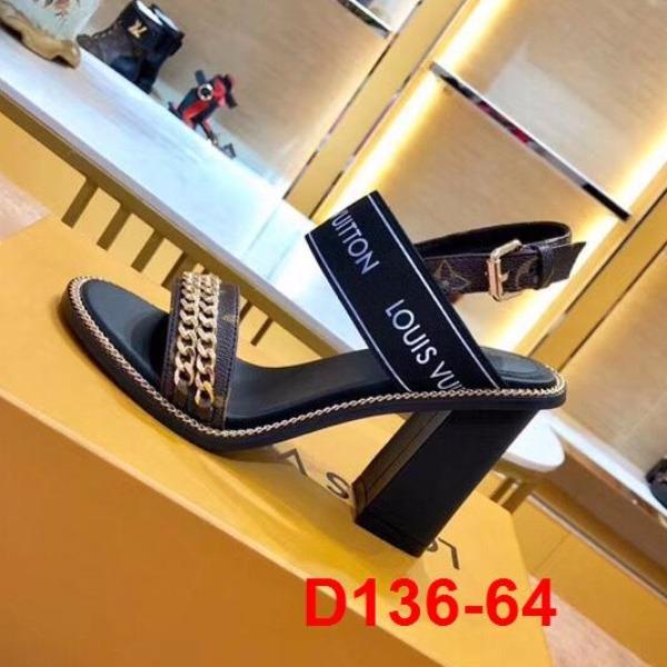 D136-64 Louis Vuitton sandal cao 10cm siêu cấp