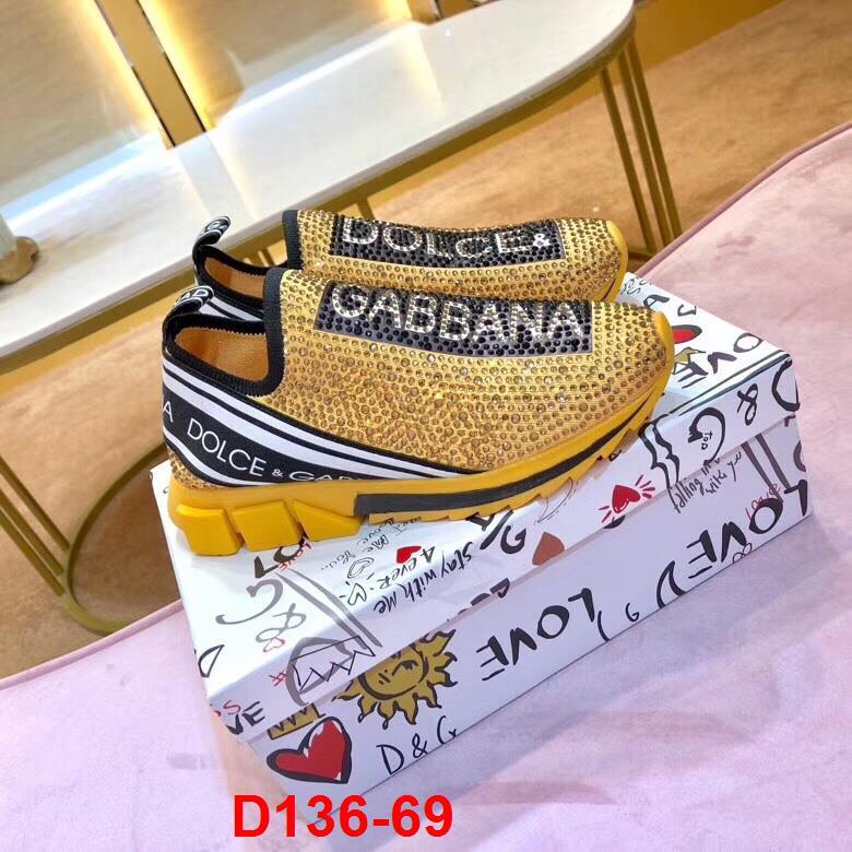 D136-69 Dolce Gabbana giày lười siêu cấp