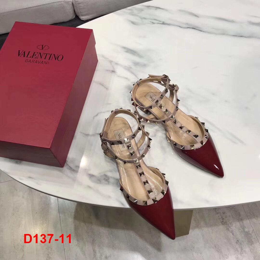 D137-11 Valentino sandal siêu cấp cao 3cm