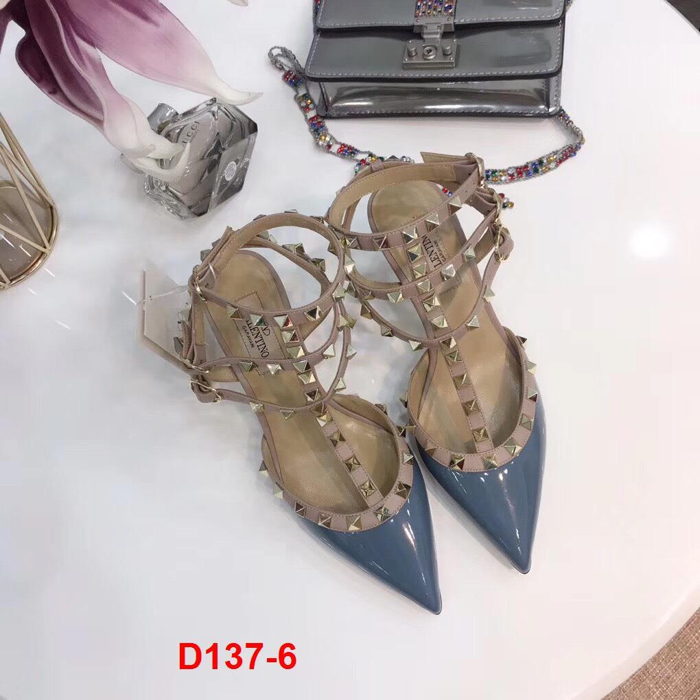 D137-6 Valentino sandal cao 6cm,10cm siêu cấp