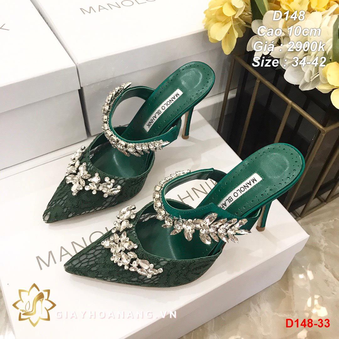 D148-33 Manolo blahnik sandal cao 10cm siêu cấp