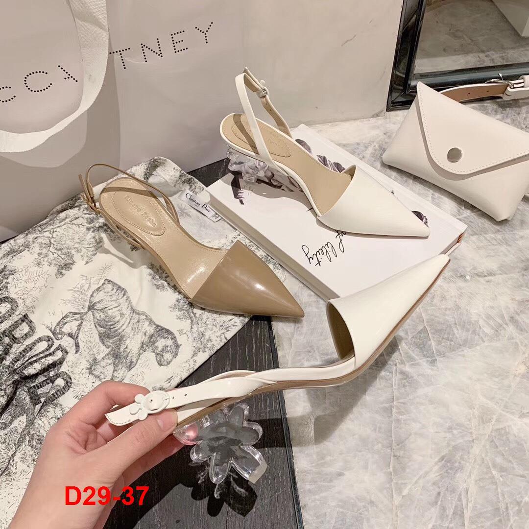 D29-37 Simone Rocha sandal cao 6cm siêu cấp