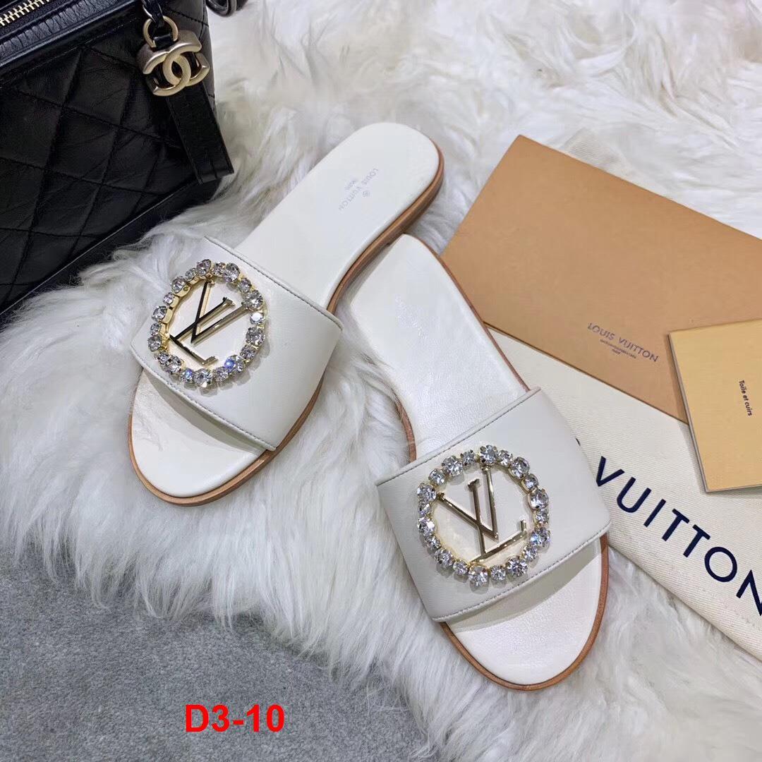 D3-10 Louis Vuitton dép bệt siêu cấp