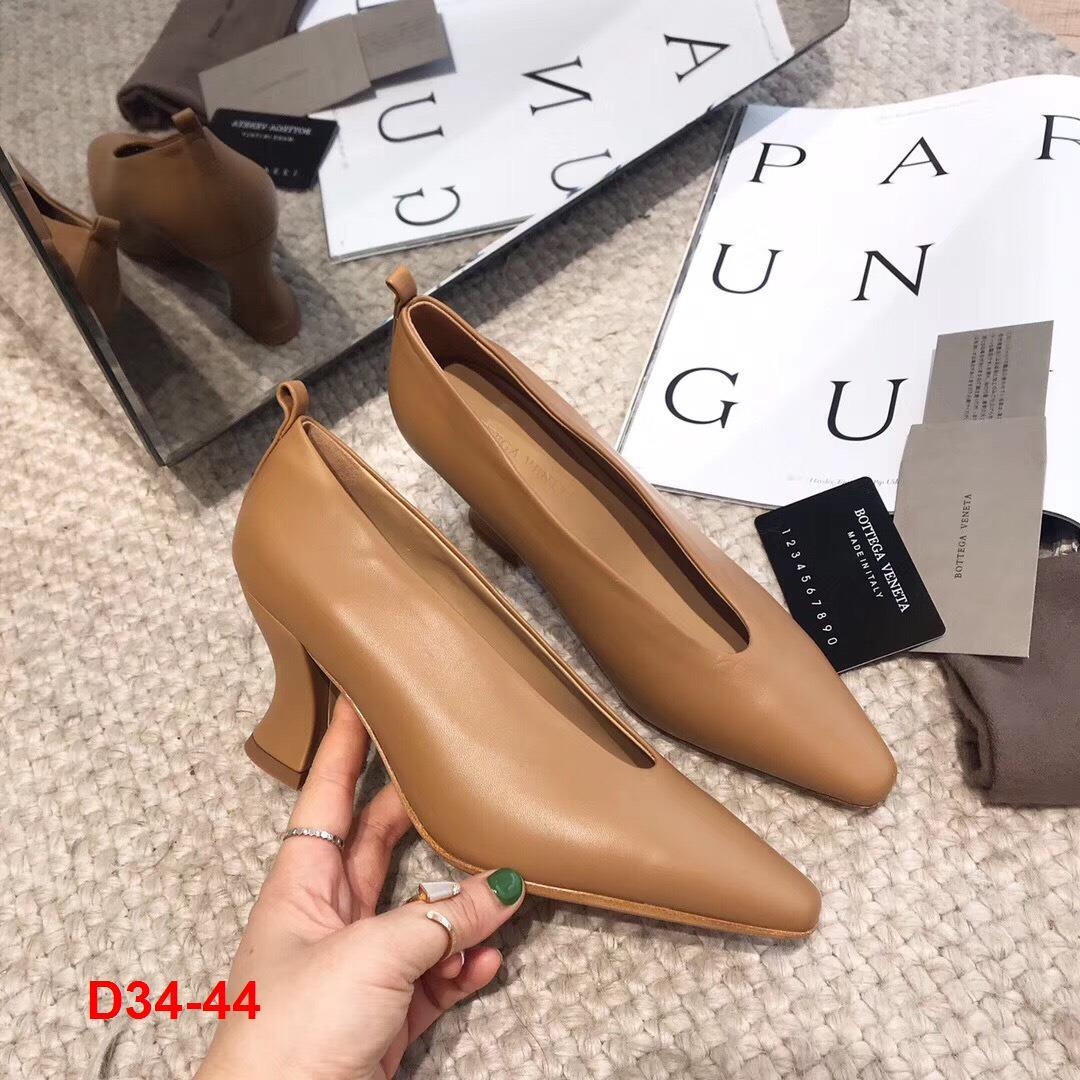 D34-44 Bottega Veneta giày cao 7cm siêu cấp
