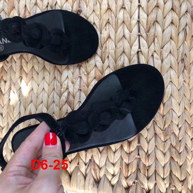 D6-25 Chanel sandal bệt siêu cấp