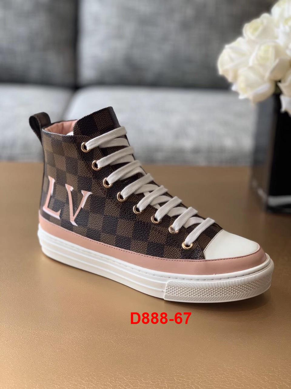 D888-67 Louis Vuitton giày thể thao siêu cấp