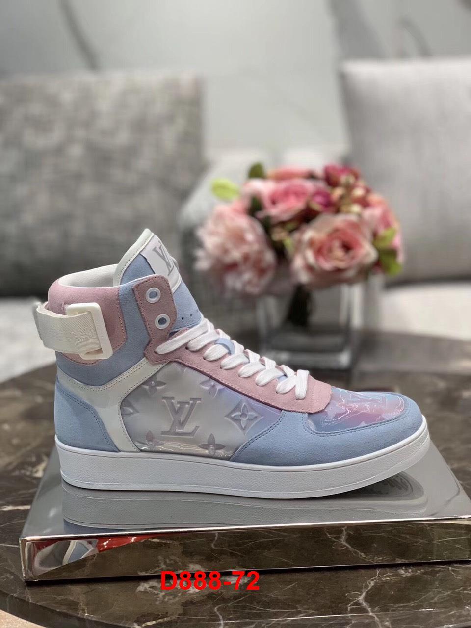 D888-72 Louis Vuitton giày thể thao siêu cấp