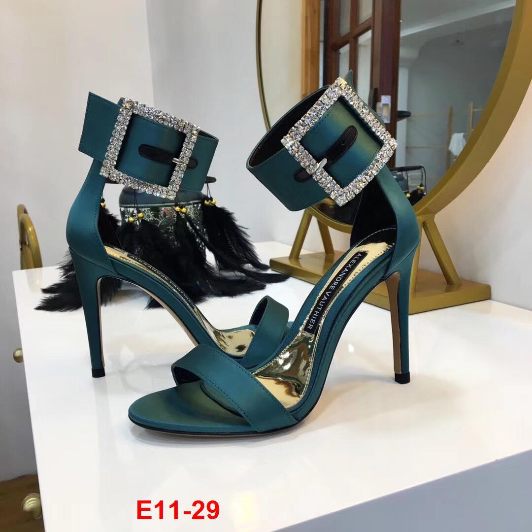 E11-29 Alexandre Vauthier sandal cao 10cm siêu cấp