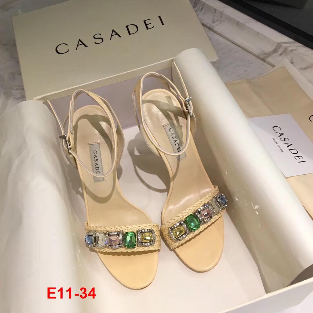 E11-34 Casadei sandal cao 10cm siêu cấp