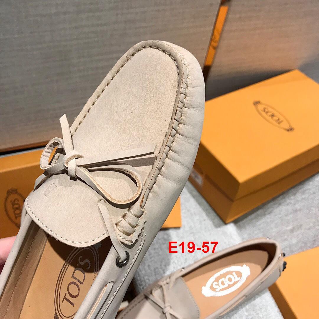 E19-57 Tods giày lười siêu cấp