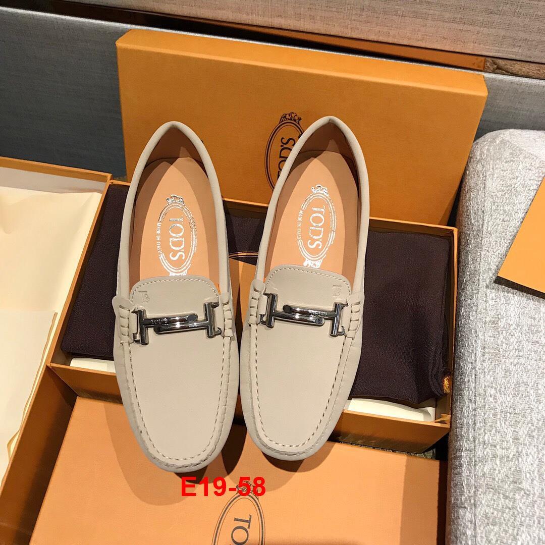 E19-58 Tods giày lười siêu cấp