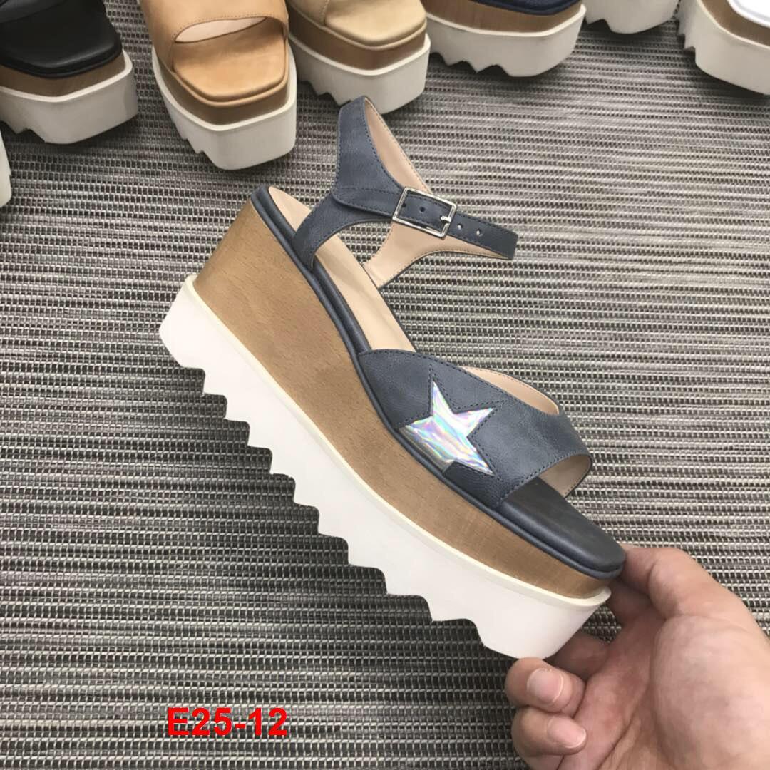E25-12 Stella Mccartney sandal cao 8cm độn đế siêu cấp