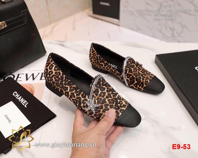 E9-53 Chanel giày lười siêu cấp