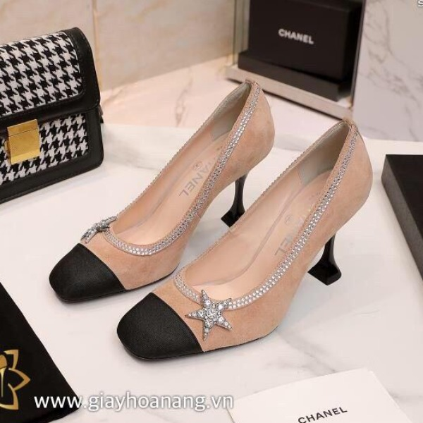E9-55 Chanel giày cao 9cm siêu cấp
