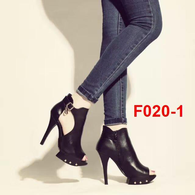F020-1 Mie sandal cao 11cm siêu cấp