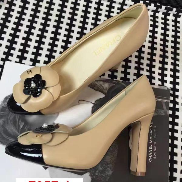 F057-1 Chanel siêu cấp giày cao 10cm