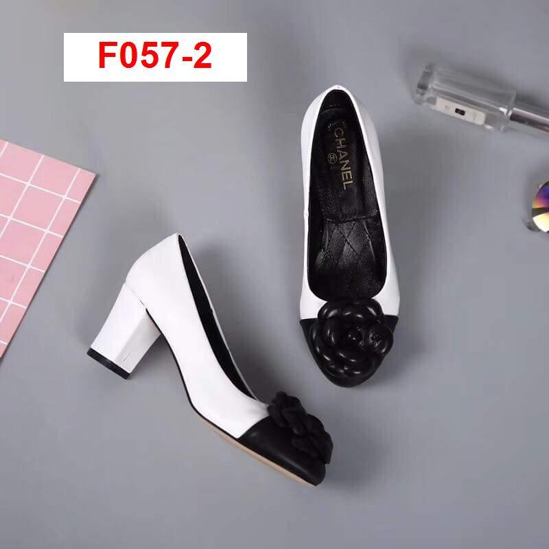 F057-2 Chanel giày cao 6cm siêu cấp