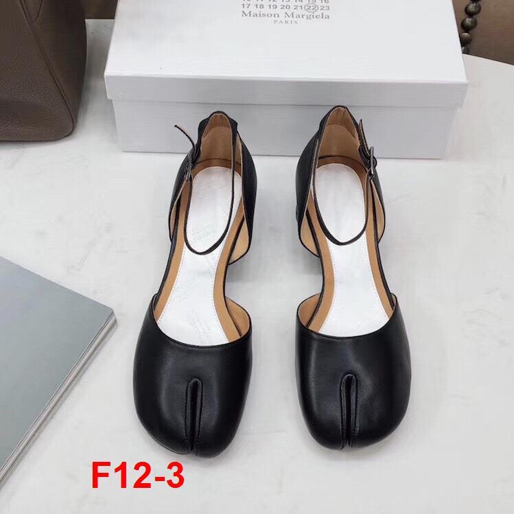 F12-3 Maison Margiela sandal cao 3cm  siêu cấp