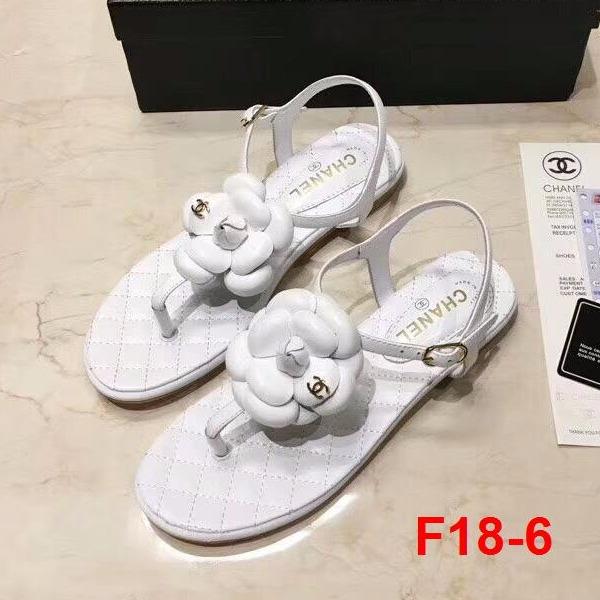 F18-6 Chanel sandal bệt siêu cấp