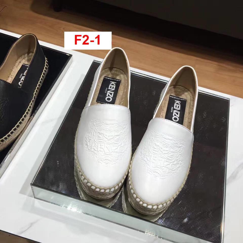 F2-1 Kenzo siêu cấp giày lười cói