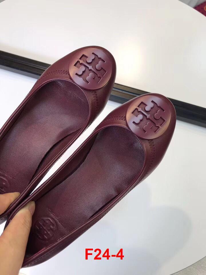 F24-4 Tory Burch giày cao 4cm siêu cấp