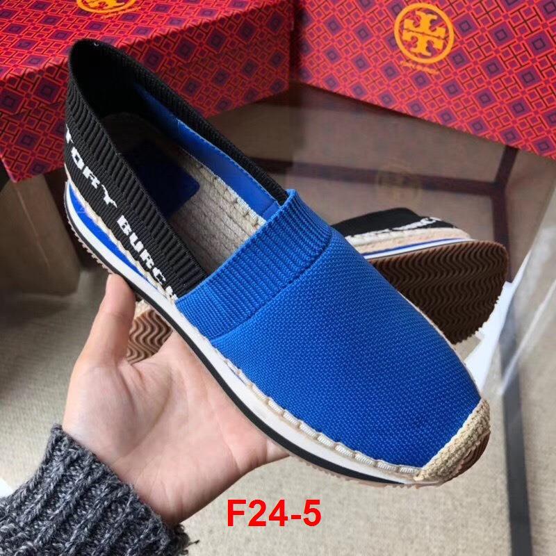 F24-5 Tory Burch giày lười siêu cấp