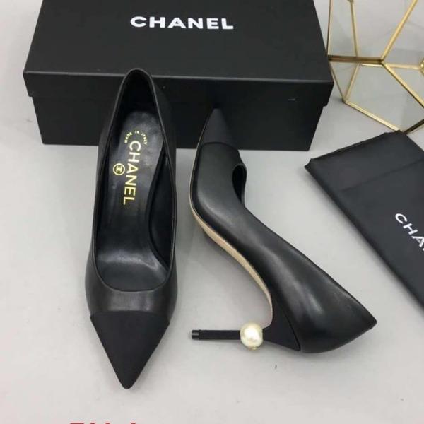 F29-2 Chanel giày cao 9cm siêu cấp