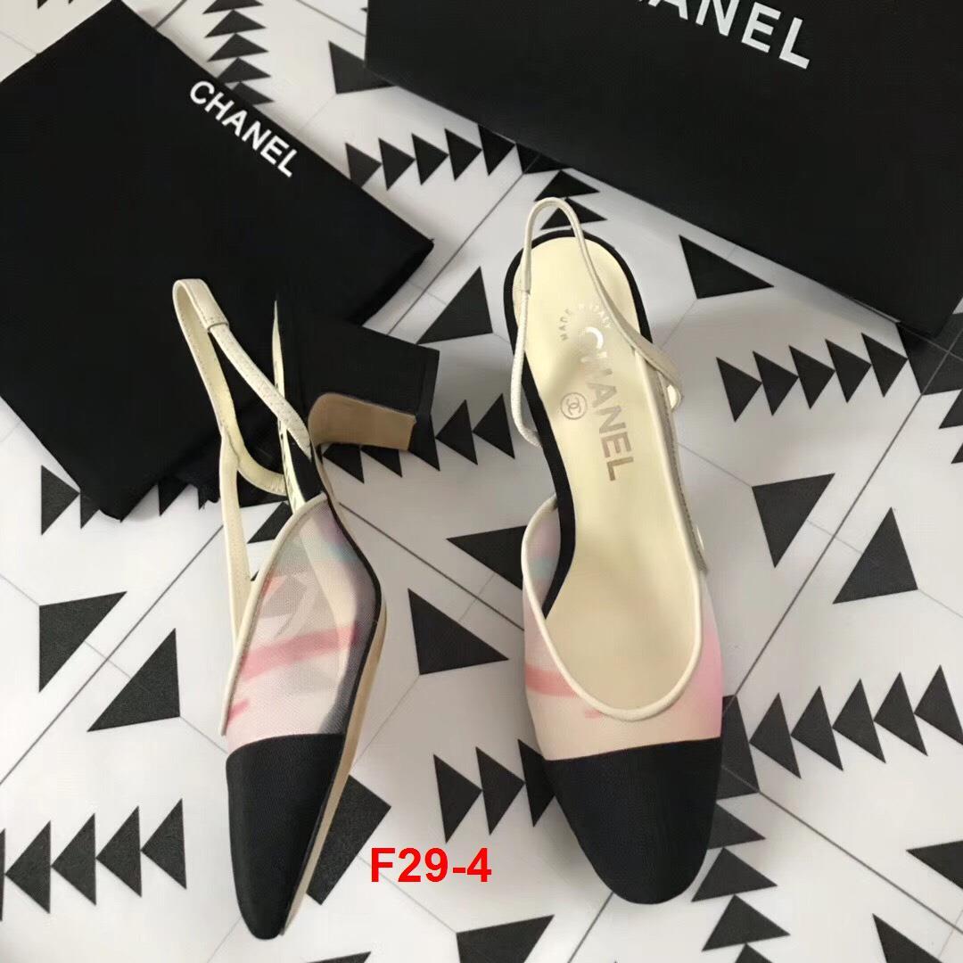 F29-4 Chanel sandal cao 6cm siêu cấp