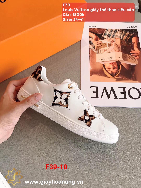 F39-10 Louis Vuitton giày thể thao siêu cấp