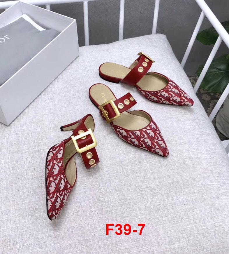 F39-7 Dior dép bệt siêu cấp