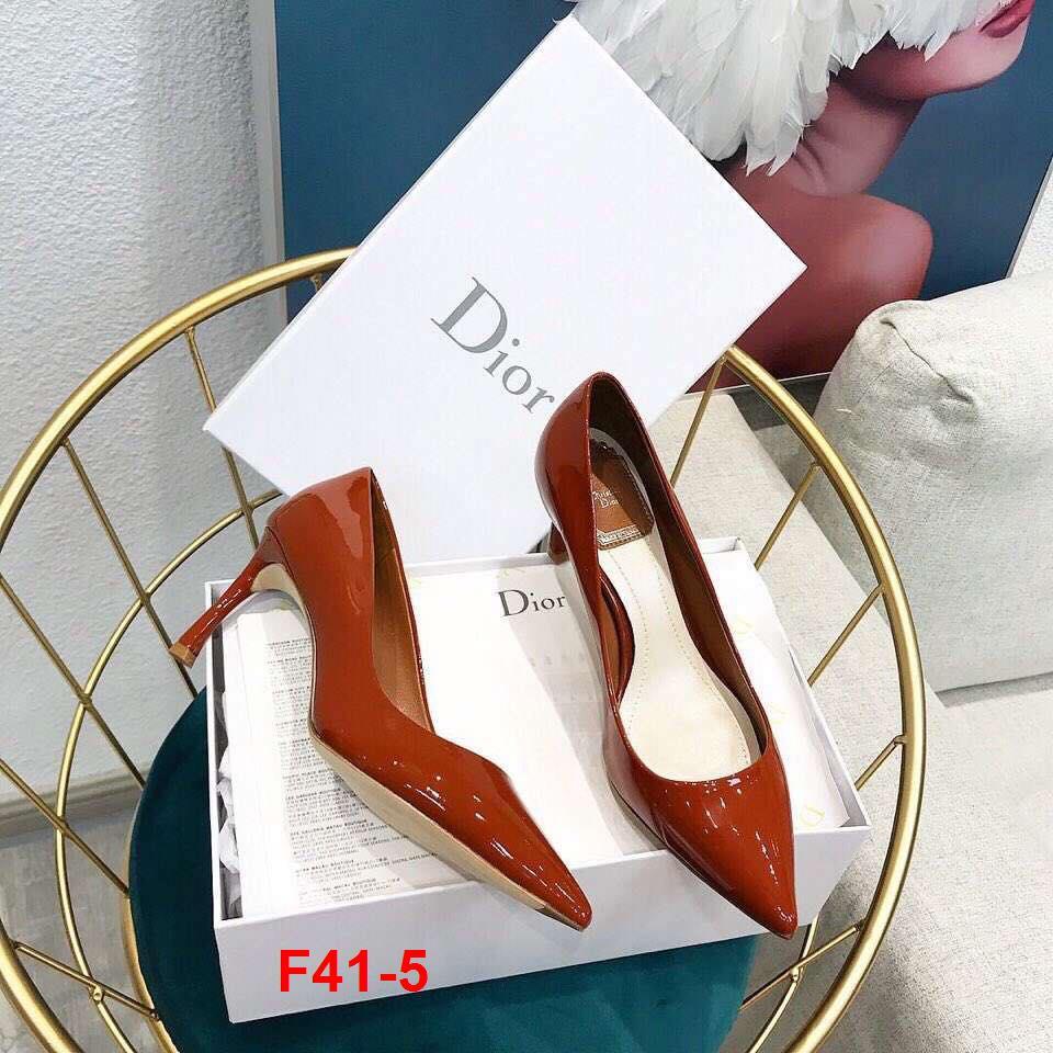 F41-5 Dior giày cao 7cm siêu cấp