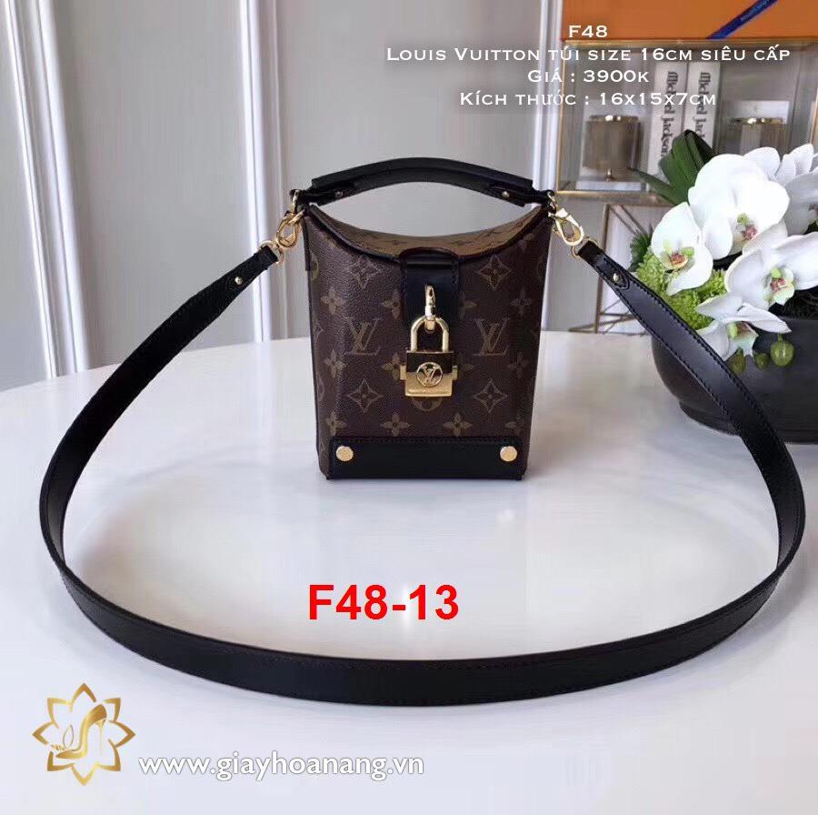 F48-13 Louis Vuitton túi size 16cm siêu cấp